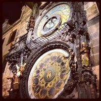 Photo taken at Prague Astronomical Clock by Leonardo R. on 8/3/2012