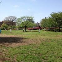 Photo taken at Kiba Park by Marica O. on 4/28/2012