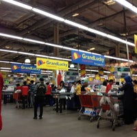 Photo taken at Grand Lucky Superstore by Isnarny M. on 9/1/2012