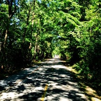 Photo taken at Capital Crescent Trail - Bethesda by Allison on 9/11/2012