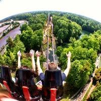 Photo taken at Busch Gardens Williamsburg by David on 4/21/2012
