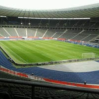 Photo taken at Olympiastadion by Dima I. on 5/10/2012
