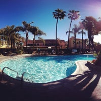 Photo taken at Jolly Roger Hotel by Joseph S. on 2/5/2012