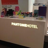 Photo taken at Pantone Hotel by Julien C. on 5/27/2012