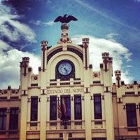 Photo taken at Valencia North Railway Station (YJV) by Pilar L. on 5/4/2012