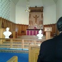 Photo taken at Trinity Episcopal Church by Christina M. on 3/7/2012