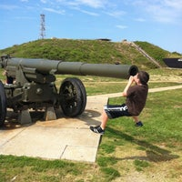 Photo taken at Fort Morgan State Historic Site by Mark S. on 6/7/2012