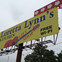Photo taken at Loretta Lynn's Kitchen and Gift Shop by Dan S. on 4/21/2012
