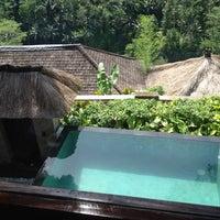 Photo taken at Kupu Kupu Barong Resort And Tree Spa by Syahman M. on 2/17/2012