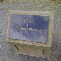 Photo taken at Parc Shaughnessy by Dominic B. on 4/4/2012