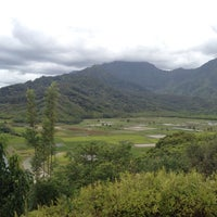 Photo taken at Hanalei Valley Lookout by James P. on 6/16/2012