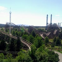 Photo taken at Silverwood Theme Park by Christina D. on 7/25/2012