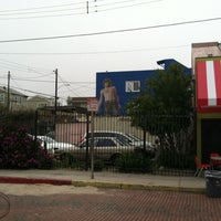 Photo taken at Jim Morrison Mural by Lauren C. on 4/21/2012