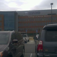 Photo taken at Georgia Health Sciences University - College Of Dental Medicine by Dana M. on 3/12/2012