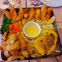 Photo taken at The Manhattan Fish Market by lynda m. on 6/24/2012