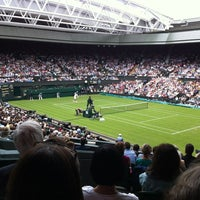 Photo taken at Centre Court by Joan S. on 6/26/2012