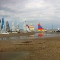 Photo taken at Strand Noordwijk aan Zee by Jasper v. on 8/11/2012