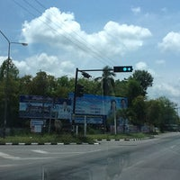 Photo taken at Khao Chaison Intersection by ::: Pan ::: on 3/18/2012