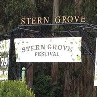Photo taken at Sigmund Stern Grove by Herm S. on 7/29/2012