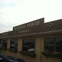 Photo taken at Michael David Winery by Debbie W. on 8/14/2012