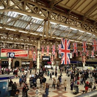 Photo taken at London Victoria Railway Station (VIC) by Josh N. on 8/31/2012