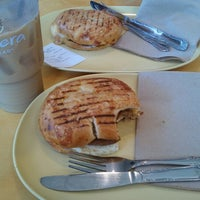 Photo taken at Panera Bread by Nick D. on 8/11/2012