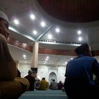 Photo taken at Masjid Ridzwaniah by Hedayat S. on 8/12/2012