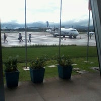 Photo taken at Aeroporto de Joinville / Lauro Carneiro de Loyola (JOI) by Anderson A. on 4/11/2012