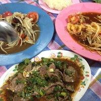 Photo taken at นู๋หน่อย ลาบยโสธร by iJun ^. on 3/28/2012