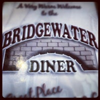 Photo taken at Bridgewater Diner by Maryellen P. on 8/27/2012