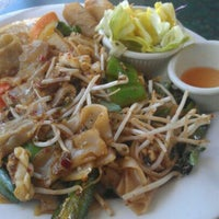 Photo taken at Lotus Thai (Carlsbad) by Cami on 4/25/2012