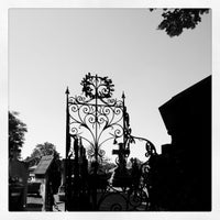 Photo taken at Père Lachaise Cemetery by Marcel d. on 5/25/2012