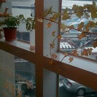 Photo taken at 카페 모리 by YEONSU K. on 2/8/2012