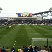 Photo taken at Talen Energy Stadium by Kevin C. on 3/31/2012