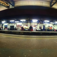 Photo taken at Southampton Central Railway Station (SOU) by Michael F. on 3/2/2012