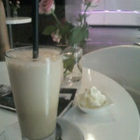 Photo taken at Lila Körte Cafe by Anita T. on 8/30/2012