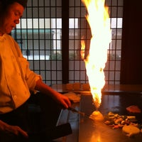 Photo taken at Mikato Japanese Steakhouse by Kelley on 2/25/2012