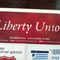 Photo taken at Liberty Union Bar & Grille by Toe-knee Q. on 7/22/2012