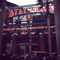 Photo taken at Willie Mays Gate by Federico N. on 9/5/2012