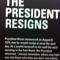 Photo taken at Nixon Archives by that girl on 2/22/2012
