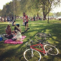 Photo taken at London Fields by Angus M. on 5/27/2012