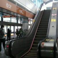 Photo taken at MRT Daan Station by Birgit L. on 4/22/2012