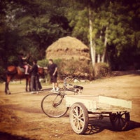 Photo taken at Delhi Riding Club by Hiroshi O. on 4/15/2012