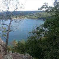 Photo taken at Devil's Lake State Park by Charlene on 8/11/2012