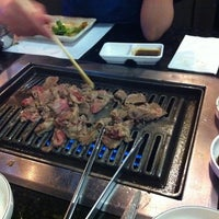 Photo taken at Goong Korean Bbq 궁 by Monica D. on 2/27/2012