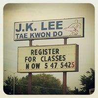 Photo taken at J.K. Lee Black Belt Academy by Michael M. on 8/23/2012