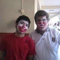 Photo taken at Colegio Oratorio Don Bosco by Ignacio Andree M. on 4/21/2012