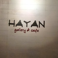 Photo taken at Hayan gallery cafe' by Nichapha C. on 3/16/2012