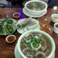 Photo taken at Pho & Cafe Anh Hong by Randy D. on 4/10/2012