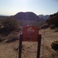 Photo taken at Pinnacle Peak Park by Jessie S. on 3/8/2012